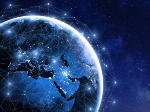 stock image of a globe