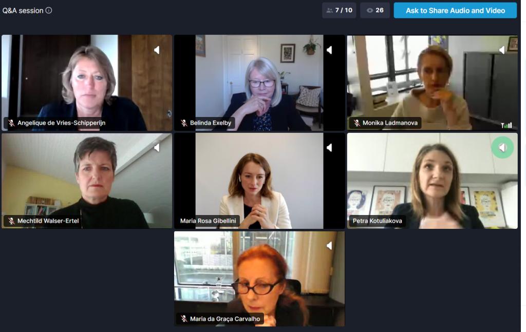 CEPIS DiversIT team member speaks at EIF Diversity in Tech debate